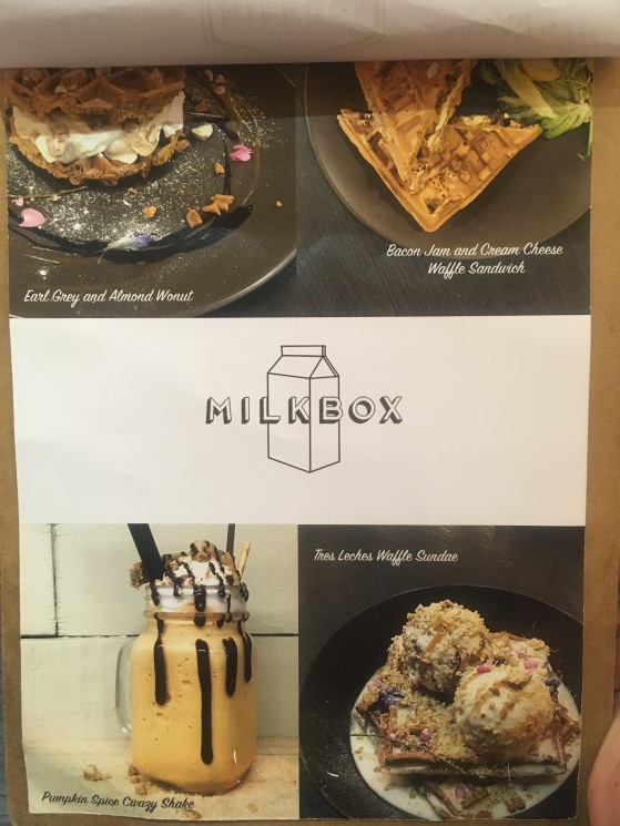 Milkbox menu cover